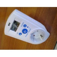 Konnektor termosztát - dugalj termosztát 16A
